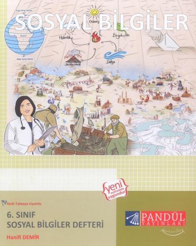 Pandül Yayınları 6. Sınıf Sosyal Bilgiler Defteri