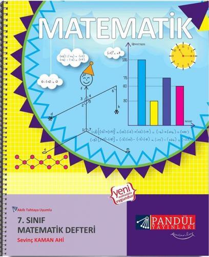 Pandül Yayınları 7. Sınıf Matematik Defteri