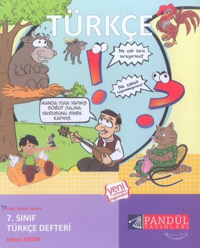 Pandül Yayınları 7. Sınıf Türkçe Defteri
