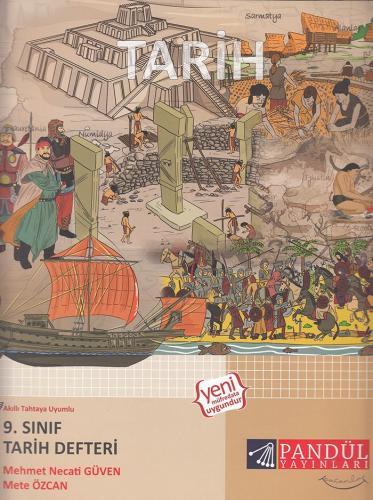 Pandül Yayınları 9. Sınıf Tarih Defteri
