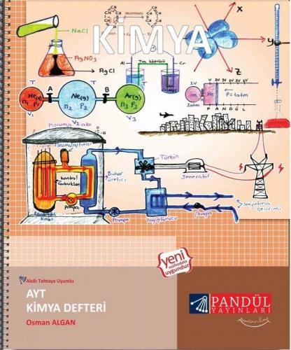 Pandül Yayınları AYT Kimya Defteri