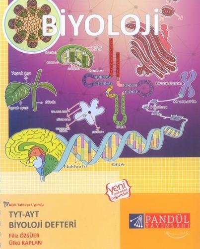 Pandül Yayınları TYT AYT Biyoloji Defteri