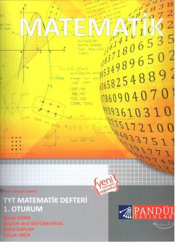 Pandül Yayınları TYT Matematik Defteri