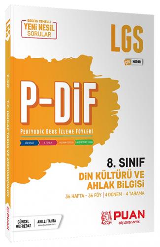 Puan Yayınları 8. Sınıf LGS Din Kültürü ve Ahlak Bilgisi PDİF Konu Anl