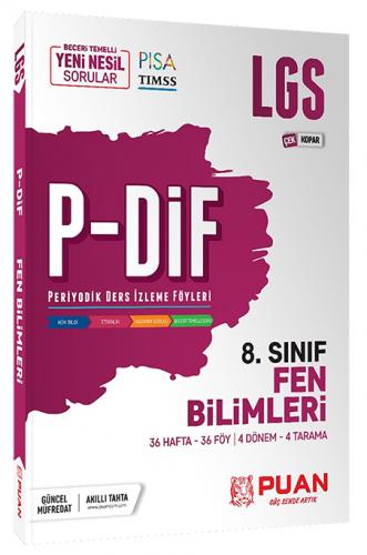 Puan Yayınları 8. Sınıf LGS Fen Bilimleri PDİF Çek Kopar Konu Anlatım