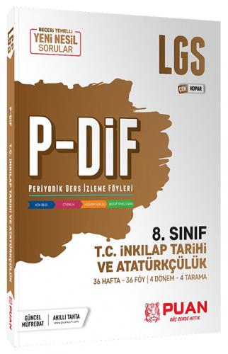 Puan Yayınları 8. Sınıf LGS TC İnkılap Tarihi ve Atatürkçülük PDİF Çek
