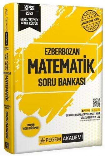 Pegem Yayınları 2022 KPSS Matematik Ezberbozan Soru Bankası Komisyon