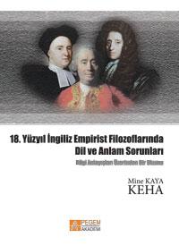 Pegem Akademi 18. Yüzyıl İngiliz Empirist Filozoflarında Dil ve Anlam Sorunları