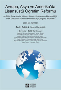 Pegem Akademi Avrupa Asya ve Amerikada Lisansüstü Öğretim Reformu