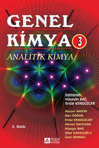Pegem Akademi Genel Kimya 3 Analitik Kimya