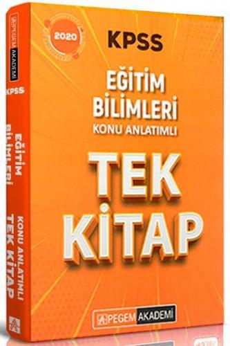 Pegem Yayınları 2020 KPSS Eğitim Bilimleri Konu Anlatımlı Tek Kitap Ko