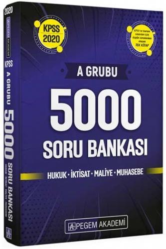 Pegem Yayınları 2020 KPSS A Grubu 5000 Soru Bankası Komisyon