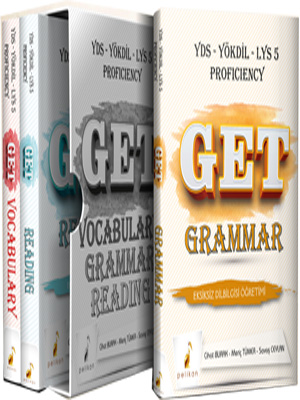 Pelikan Get Grammar Vocabulary Reading Soru Bankası Seti YDS YÖKDİL LY
