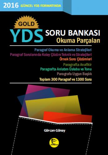Pelikan Gold YDS Soru Bankası Okuma Parçaları - Gürcan Günay
