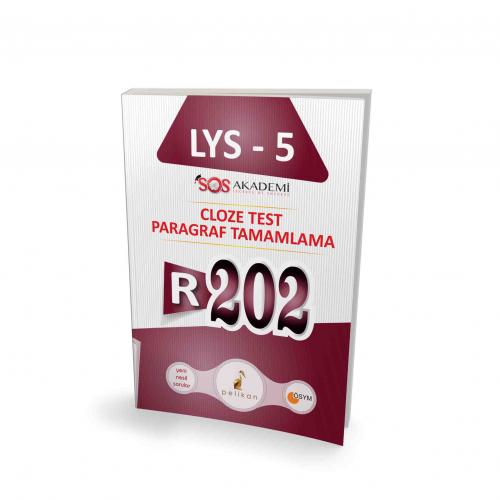 Pelikan İngilizce LYS - 5 R202 Cloze Test Paragraf Tamamlama %45 indir