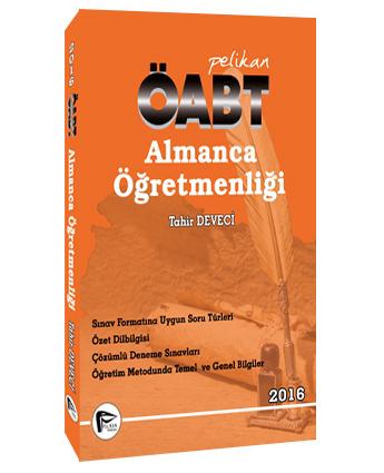 Pelikan KPSS ÖABT Almanca Öğretmenliği 2016 - Tahir Deveci