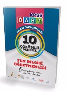 Pelikan KPSS ÖABT Fen Bilgisi Öğretmenliği Alan Savunması 10 Çözümlü Deneme 2018