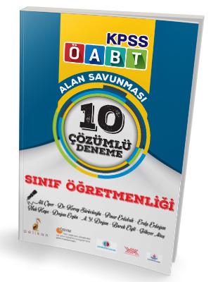 Pelikan KPSS ÖABT Sınıf Öğretmenliği Alan Savunması 10 Çözümlü Deneme 2018