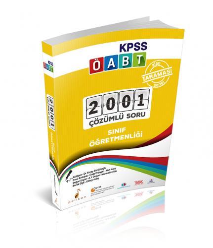 Pelikan KPSS ÖABT Sınıf Öğretmenliği Alan Taraması Serisi 2001 Çözümlü Soru 2018
