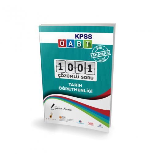 Pelikan KPSS ÖABT Tarih Öğretmenliği Alan Taraması Serisi 1001 Çözümlü Soru 2017