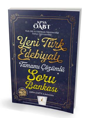 Pelikan KPSS ÖABT Yeni Türk Edebiyatı Tamamı Çözümlü Soru Bankası 2018