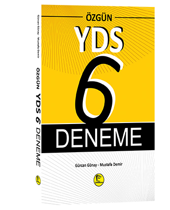 Pelikan Özgün YDS 6 Deneme - Gürcan Günay, Mustafa Demir