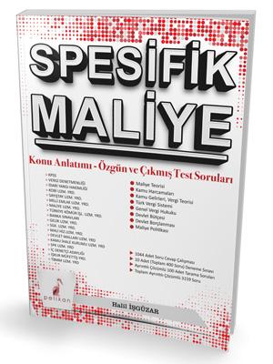 Pelikan Spesifik Maliye Konu Anlatımı Özgün ve Çıkmış Test Soruları %4