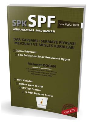 Pelikan SPK - SPF Dar Kapsamlı Sermaye Piyasası Mevzuatı ve Meslek Kuralları Konu Anlatımlı Soru Bankası 1001