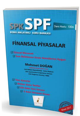 Pelikan SPK - SPF Finansal Piyasalar Konu Anlatımlı Soru Bankası 1006