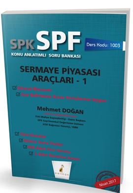 Pelikan SPK - SPF Sermaye Piyasası Araçları 1 Konu Anlatımlı Soru Bankası 1003