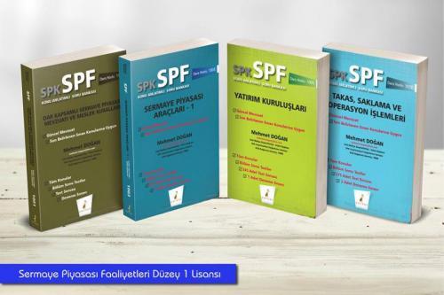Pelikan SPK - SPF Sermaye Piyasası Faaliyetleri Düzey 1 Lisansı (4 Kitap)