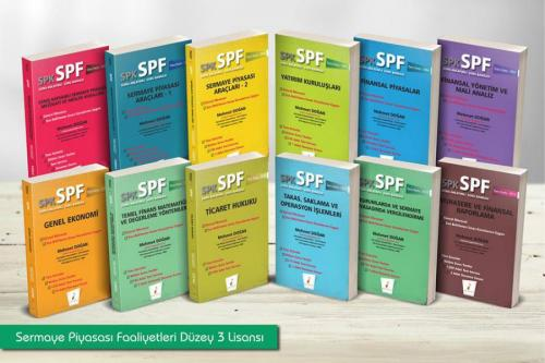 Pelikan SPK - SPF Sermaye Piyasası Faaliyetleri Düzey 3 Lisansı (12 Kitap)