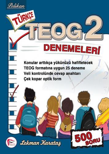 Pelikan Türkçe TEOG 2 Denemeleri %45 indirimli Lokman Karataş