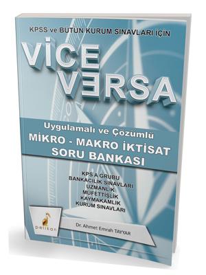 Pelikan Vice Versa Uygulamalı ve Çözümlü Mikro - Makro İktisat Soru Ba