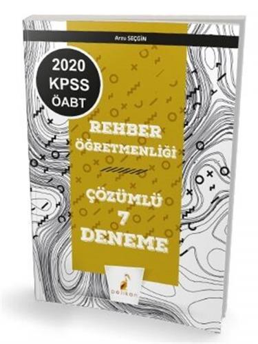KELEPİR Pelikan Yayınları 2020 KPSS ÖABT Rehber Öğretmenliği 7 Çözümlü