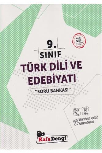 Kafa Dengi 9. Sınıf Türk Dili ve Edebiyatı Soru Kitabı