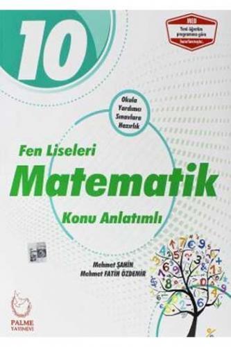 Palme 10. Sınıf Fen Liseleri Matematik Konu Anlatımı