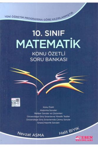 Esen 10. Sınıf Matematik Konu Özetli Soru Bankası