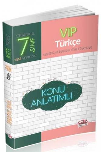 Editör 7. Sınıf VIP Türkçe Konu Anlatımlı