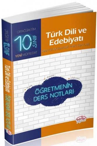 Editör 10. Sınıf Türk Dili ve Edebiyatı Öğretmenin Ders Notları
