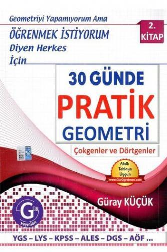 Gür Yayınları 30 Günde Pratik Geometri 2. Kitap