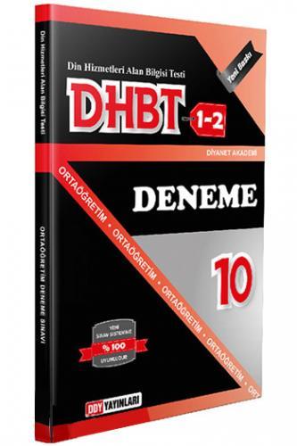 DHBT 1 2 Ortaöğretim İHL 10 Deneme - DDY Yayınları