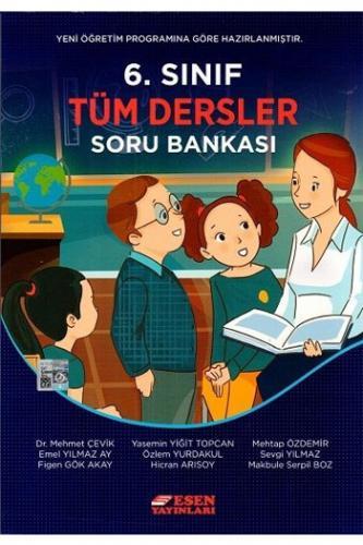 Esen Yayınları 6. Sınıf Tüm Dersler Soru Bankası