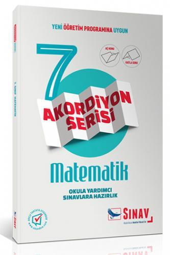 Sınav 7. Sınıf Matematik Akordiyon Kitap