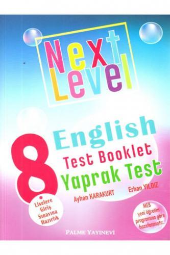 Palme 8. Sınıf Next Level English Test Booklet Yaprak Test