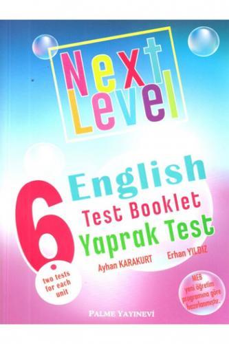 Palme 6. Sınıf Next Level English Practice Test Booklet