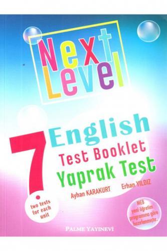 Palme Next Level 7. Sınıf English Practice Test Booklet