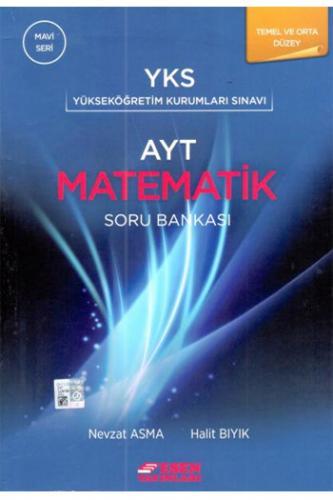 Esen YKS AYT Matematik Temel ve Orta Düzey Soru Bankası Mavi Seri