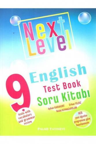 Palme 9. Sınıf Next Level English Test Book Soru Kitabı