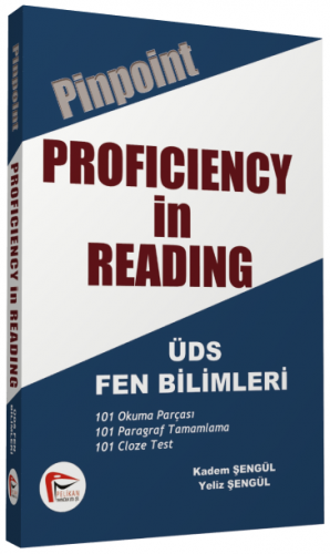 Pinpoint Proficiency in Reading - ÜDS Fen Bilimleri %50 indirimli Kade